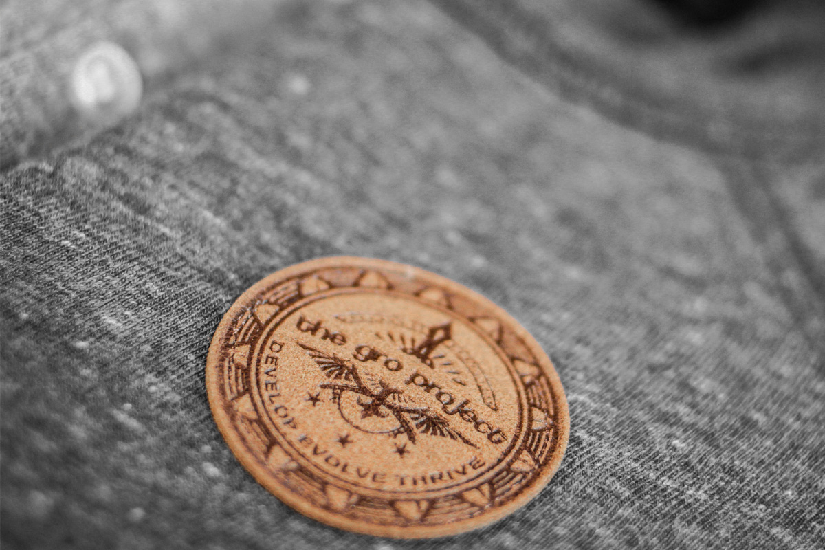 GRO Project Leather embossed Seal