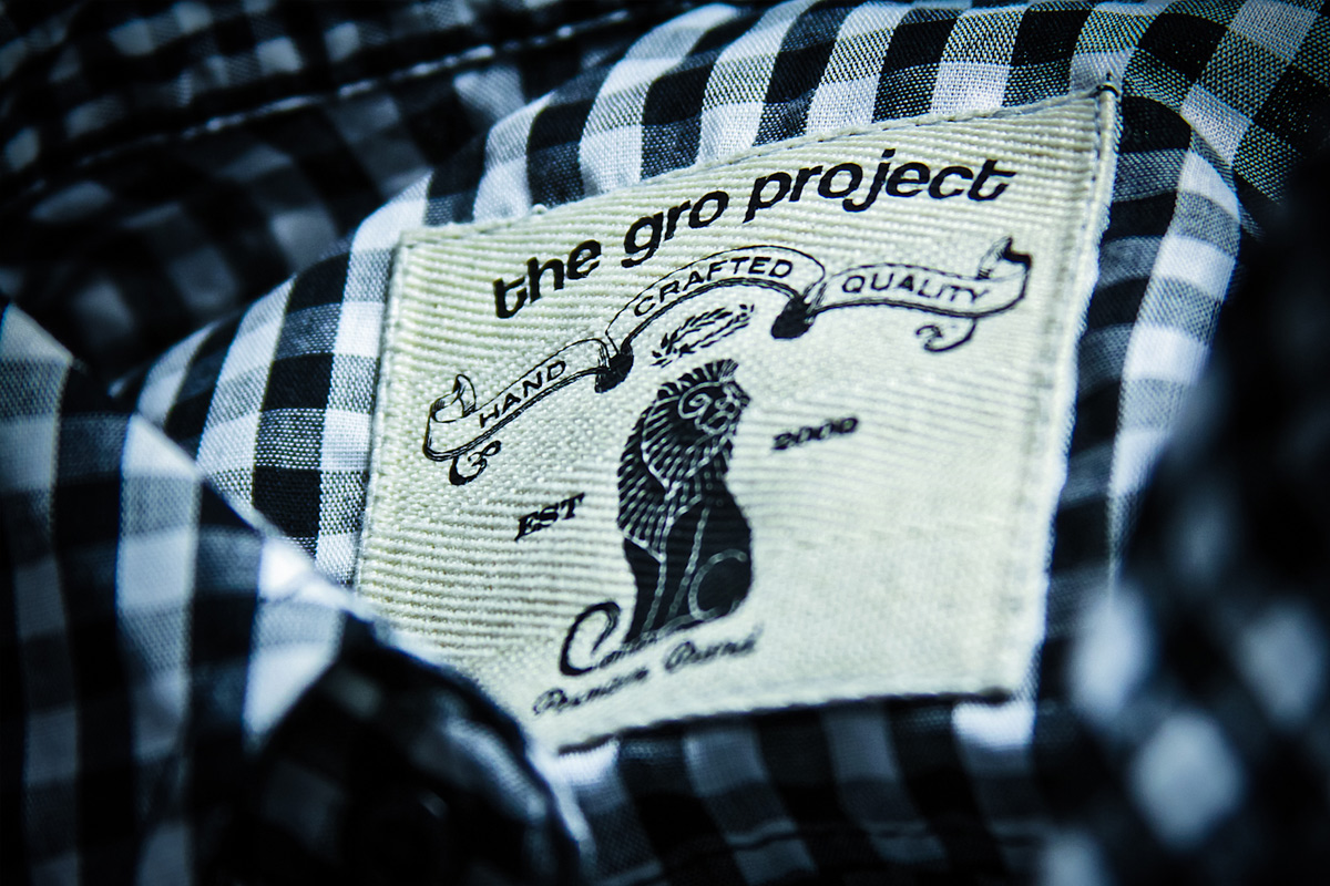 GRO Project Flat Label