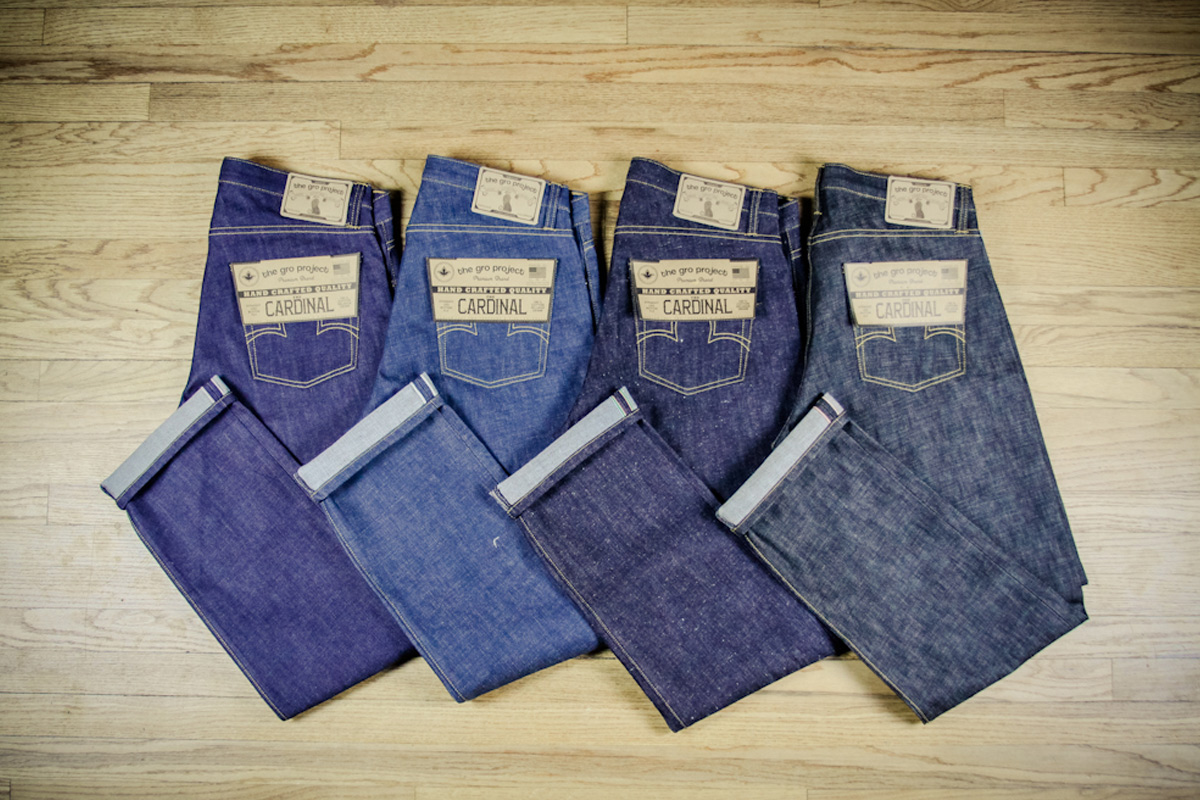 The GRO Project - Selvage Denim