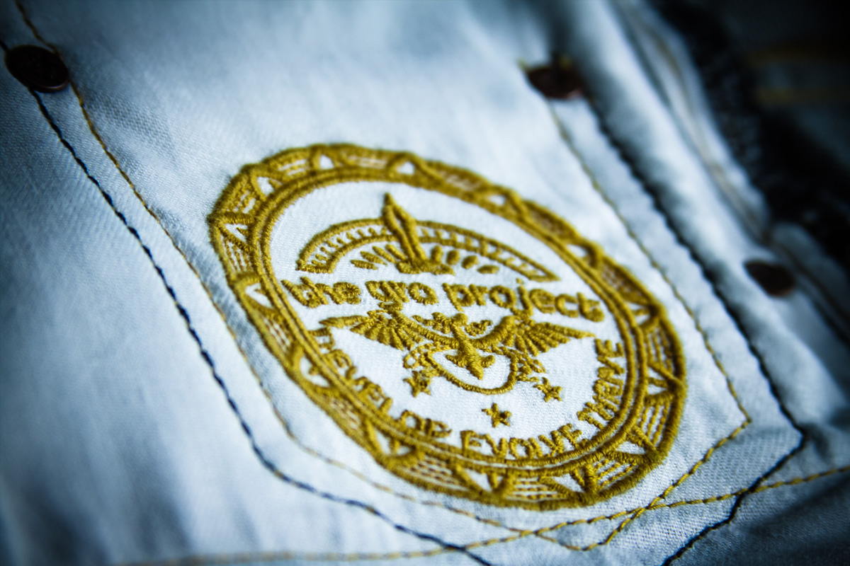 The GRO Project - Selvage Denim Inside Pocket Embroidery