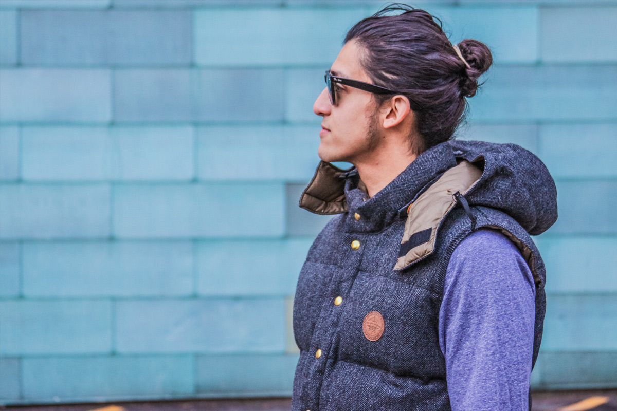 The GRO Project - Down Vest Design side