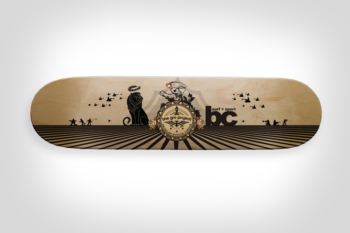 The GRO Project - Skate Deck