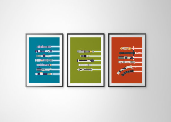 Lightsaber-Posters